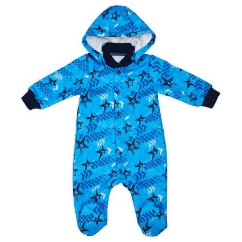 Комбинезон Babyglory размер 68, синий джемпер для новорожденных babyglory superstar цвет синий ss001 09 размер 92