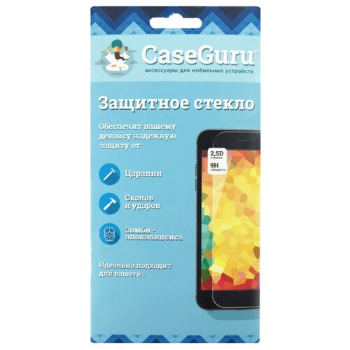 Фото - Защитное стекло CaseGuru Full Screen Glue для Samsung Galaxy A6 black защитное стекло caseguru для samsung galaxy a7 2016 прозрачный