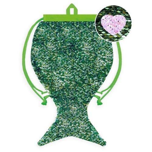 Феникс+ Мешок для сменной обуви (48815/48816/48817/48818/48819) зеленый/фиолетовый феникс мешок для обуви скейт