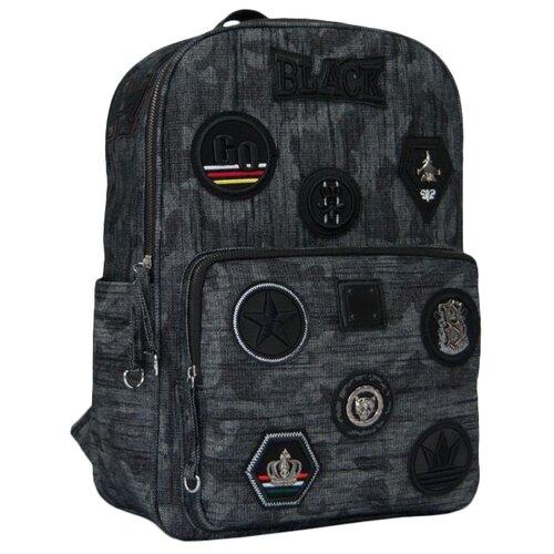 Купить Феникс+ Рюкзак 46671, черный, Рюкзаки, ранцы