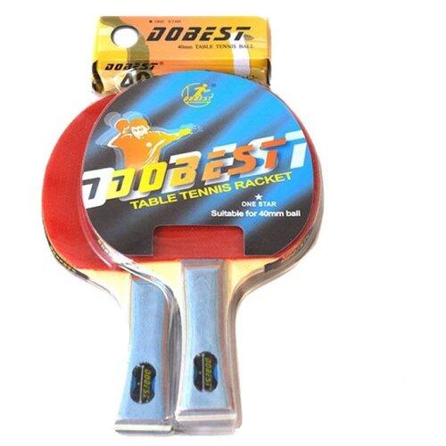 Набор ракеток Dobest BR20/1 набор ракеток start up br20 2 star