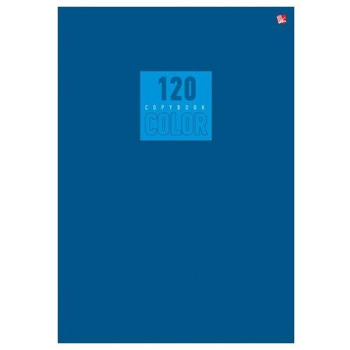Купить Listoff Тетрадь Color, клетка, 120 л. синий, Тетради