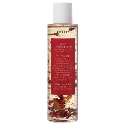 KORRES масло для снятия макияжа Дикая роза, 150 мл средство для снятия макияжа korres korres ko003lwaoe17