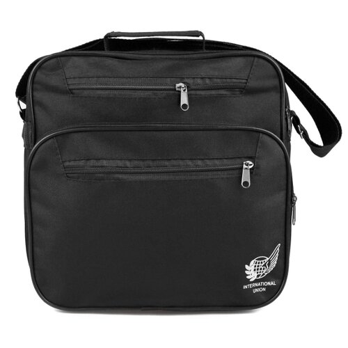 Сумка Омскшвейгалантерея Имидж-3, черный сумка дорожная омскшвейгалантерея баул 2 черный