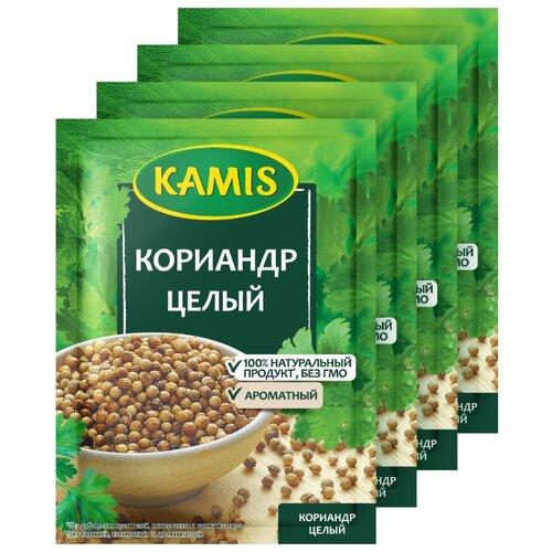 KAMIS Пряность Кориандр целый, 4х15 г