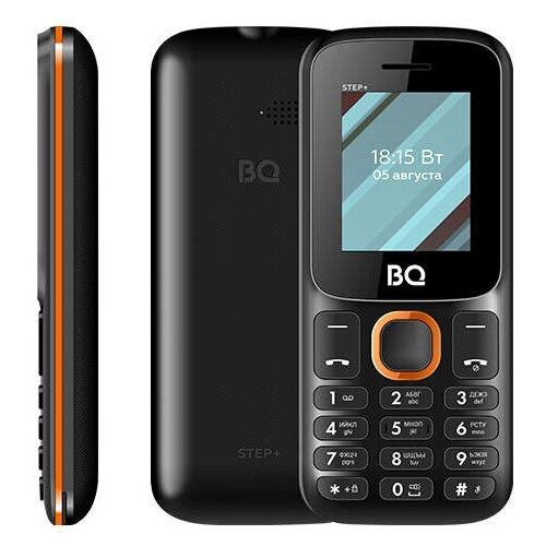 Телефон BQ 1848 Step+ черный / оранжевый телефон