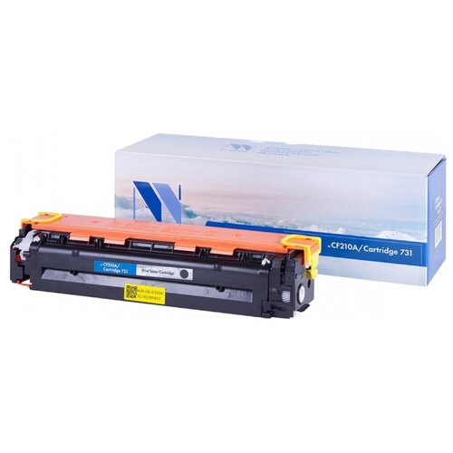 Фото - Картридж NV Print CF210A/731 Black для HP и Canon, совместимый картридж nv print q7581a для hp