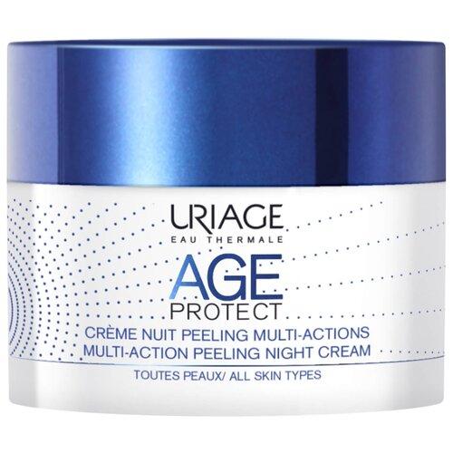 Купить Uriage пилинг для лица Age Protect Multi-Action Night Cream Peel ночной многофункциональный 50 мл