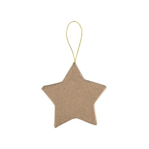 Купить Заготовки и основы Love2art PAM-109 фигуры папье-маше 3 шт №05 звезда (10.2x10.2x1.2), Декоративные элементы и материалы
