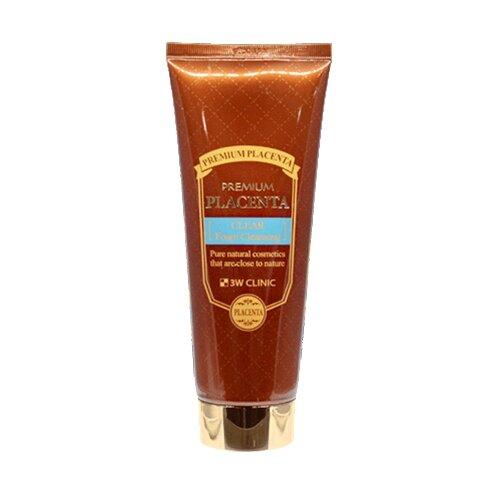 Купить 3W Clinic пенка для лица очищающая для ухода за зрелой кожей с протеинами плаценты, 180 мл