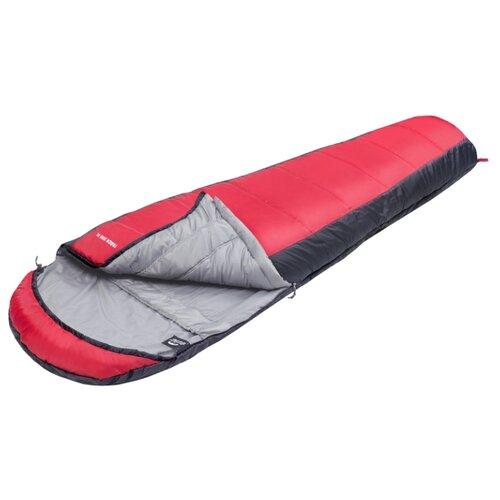 Спальный мешок Jungle Camp Track 300 XL серый/красный
