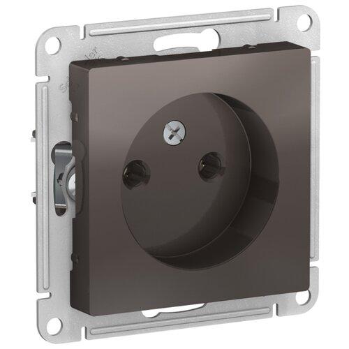цена на Розетка Schneider Electric AtlasDesign ATN000641,16А, коричневый