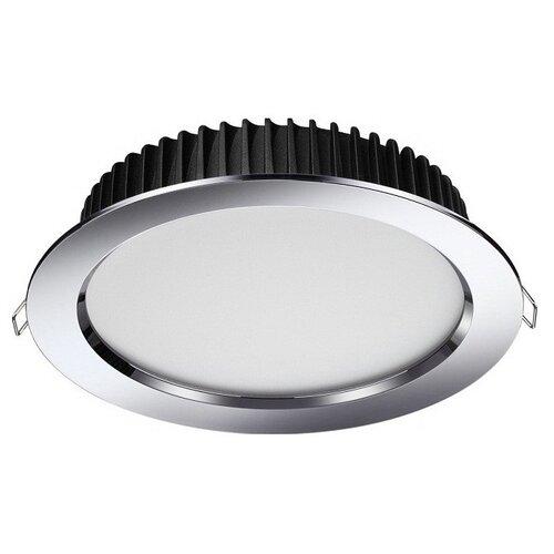 Встраиваемый светильник Novotech Drum 358305 встраиваемый светодиодный светильник novotech drum 357604