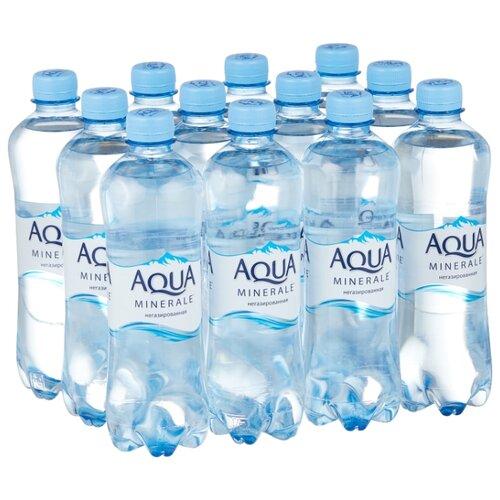 Фото - Вода питьевая Aqua Minerale негазированная, ПЭТ, 12 шт. по 0.5 л вода aqua minerale малина 500 мл