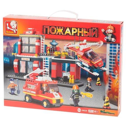 Конструктор SLUBAN Пожарные спасатели M38-B0225