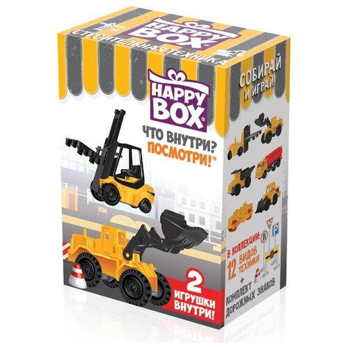 Карамель леденцовая Happy Box с игрушкой Строительная техника 18 г набор happy box игрушка и карамель 18 г