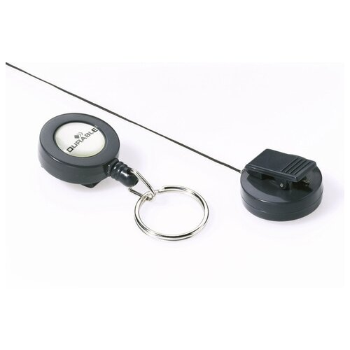 Рулетка для бэйджа с кольцом
