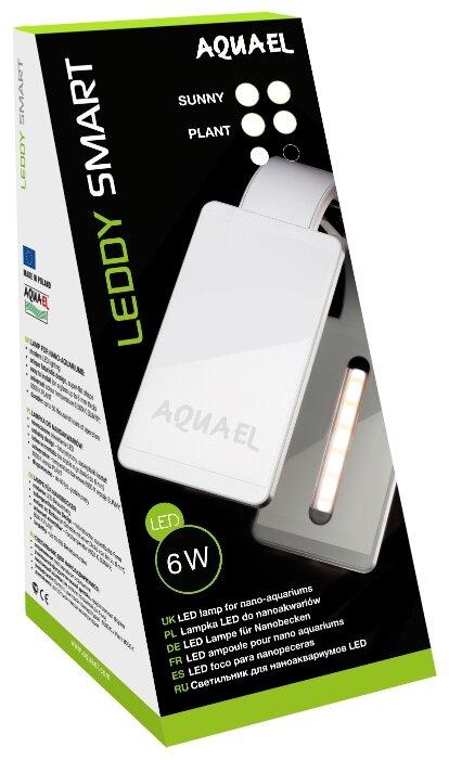 Светильник обычный 6 Вт AQUAEL Leddy Smart LED Plant белый
