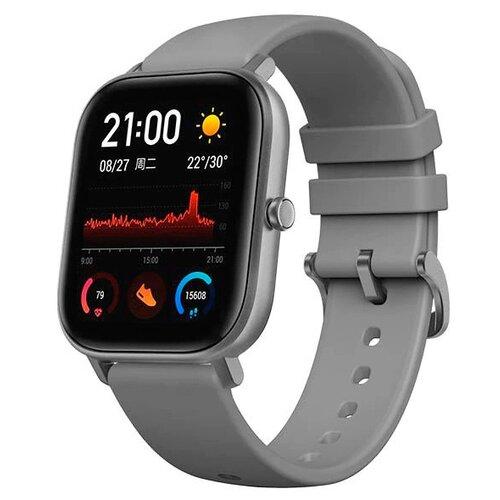 Умные часы c GPS Amazfit GTS серый
