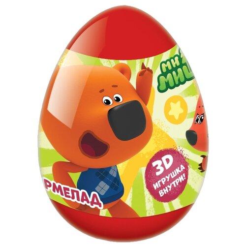 цена на Жевательный мармелад Конфитрейд в пластиковом яйце Ми-Ми-Мишки ассорти 10 г
