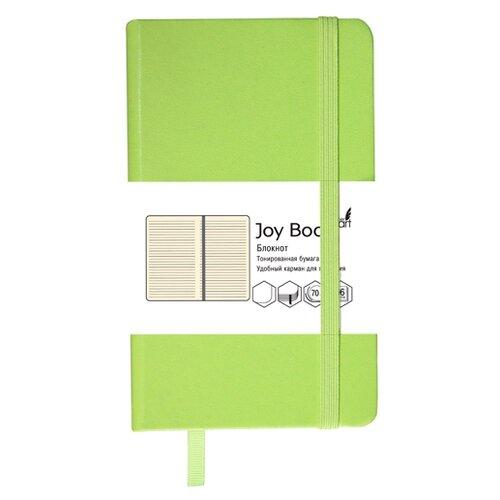 Блокнот Канц-Эксмо Joy Book. Ярко-салатовый А5, 96 листов (БДБЛ5962229), Блокноты  - купить со скидкой