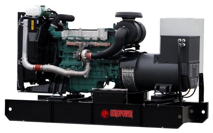 Дизельный генератор EUROPOWER EP600TDE с АВР (472800 Вт)