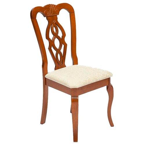 Комплект стульев TetChair Aphrodite, дерево/текстиль, 2 шт., цвет: дуб в красноту