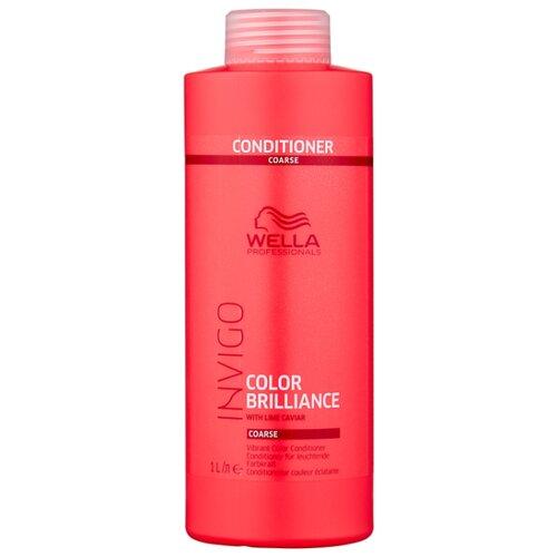 Фото - Wella Professionals бальзам-уход Invigo Color Brilliance Coarse для защиты цвета окрашенных жестких волос, 1000 мл wella professionals invigo color brilliance gift set