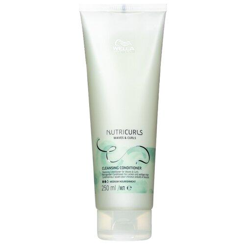 Купить Wella Professionals бальзам NutriCurls Waves & Curls Cleansing Conditioner Очищающий для вьющихся и кудрявых волос, 250 мл
