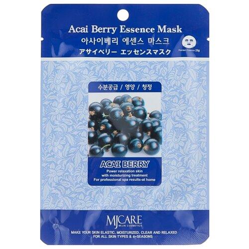 Купить MIJIN Cosmetics тканевая маска Acai Berry Essence с экстрактом ягод асаи, 23 г