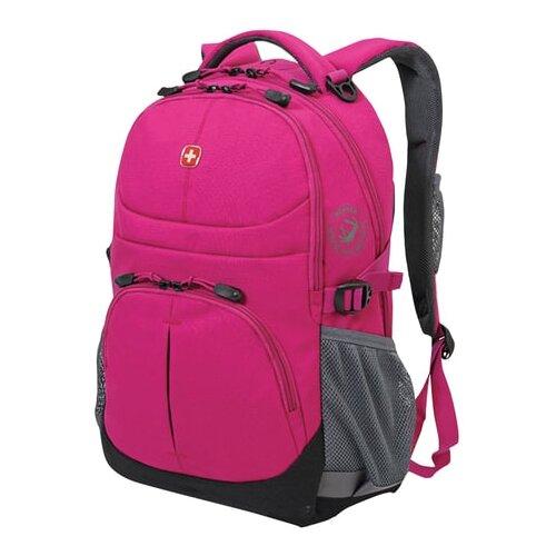 рюкзаки wenger 3001932408 Рюкзак WENGER, универсальный, фуксия (пурпурный), 22 л, 34х14х46 см, 3001932408