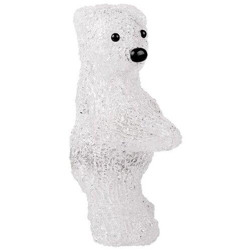 Фигурка NEON-NIGHT Медвежонок 22 см белый