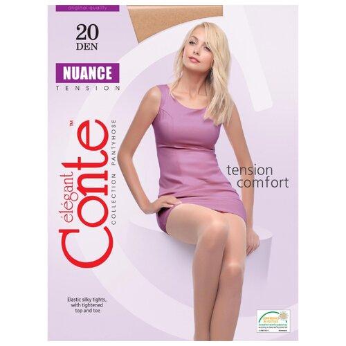 Фото - Колготки Conte Elegant Nuance 20 den, размер 6, beige (бежевый) комплект conte elegant conte elegant mp002xw13v8a