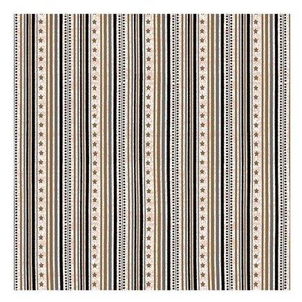 Ткань STOF PEPPY (P - W) для пэчворка 4497 фасовка 50 x 55 см 146±5 г/кв.м Полоски/звездочки