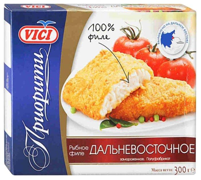 Vici Минтай Дальневосточное филе панированное коробка 300 г