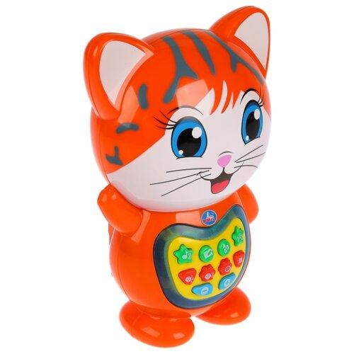 Купить Интерактивная развивающая игрушка Умка Кот-сказочник красный, Развивающие игрушки