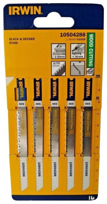 Набор пилок для лобзика Irwin 10504288