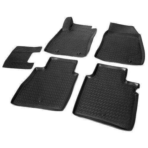 Комплект ковриков RIVAL 14106001 Nissan Sentra 5 шт. черный