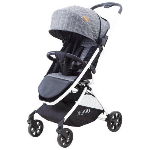 Купить Прогулочная коляска XO KID Asmus grey cell, Коляски