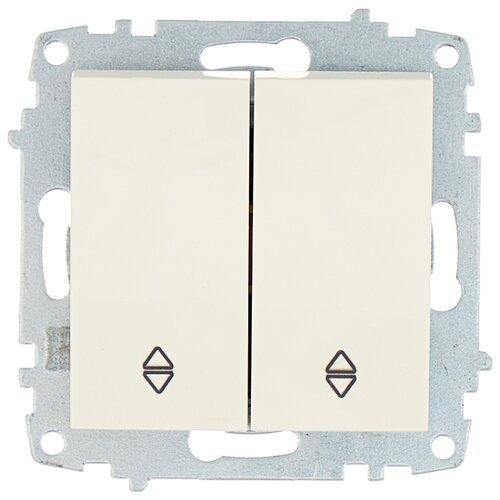 цена на Выключатель 2х1-полюсный ABB Cosmo 619-010200-211,10А, белый