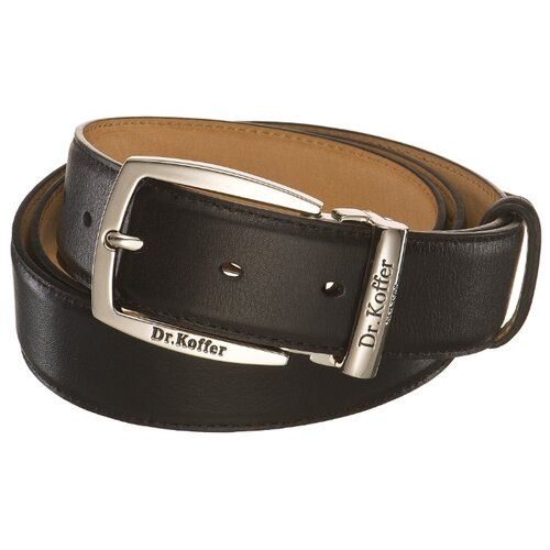 Ремень Dr.Koffer R053B-01-120-41, черный, 120 см