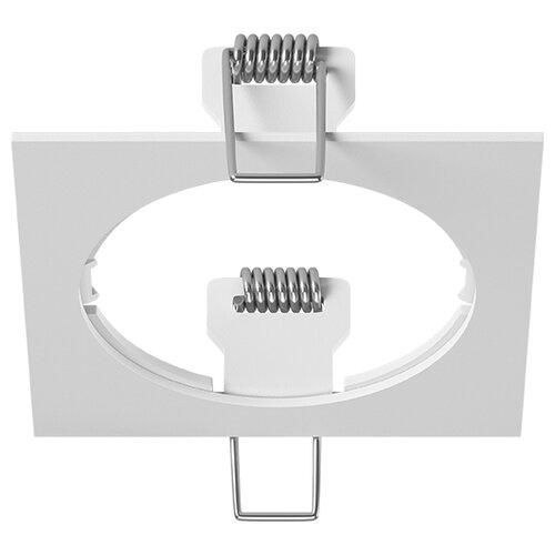 Декоративная рамка Lightstar Intero 16 Quadro 217516 / 217517 / 217519 на 1 светильник белый встраиваемый светильник lightstar intero 16 i636090609