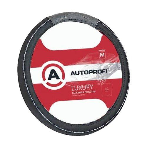 Оплетка/чехол AUTOPROFI AP-1080 (M) черный/серый