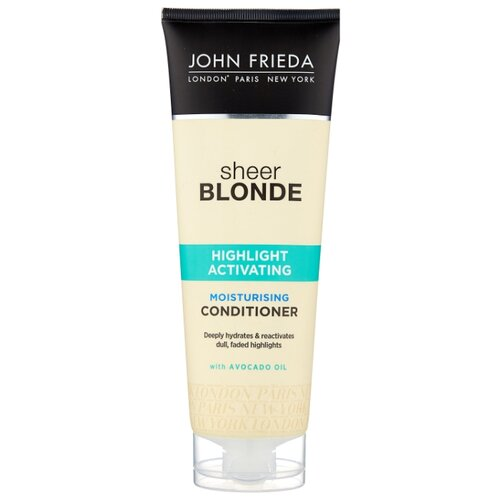 купить John Frieda кондиционер Sheer Blonde Highlight Activating Moisturising, 250 мл в интернет-магазине