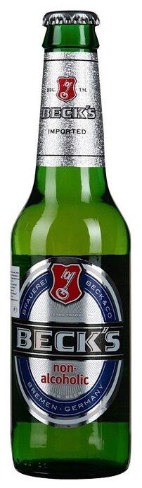 Пиво безалкогольное светлое Beck's Blue 0,33 л
