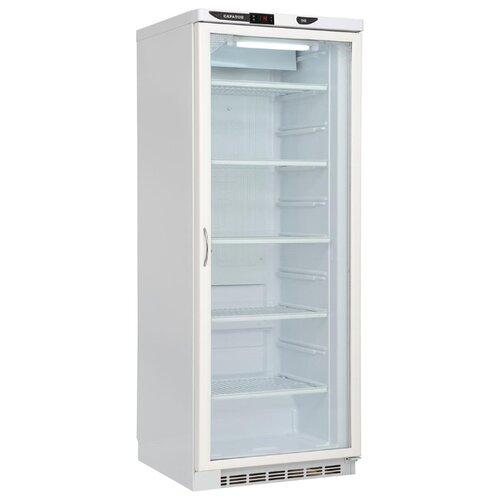 Шкаф-витрина Саратов 502-02 (КШ-300) белый холодильник саратов 451 кш 160