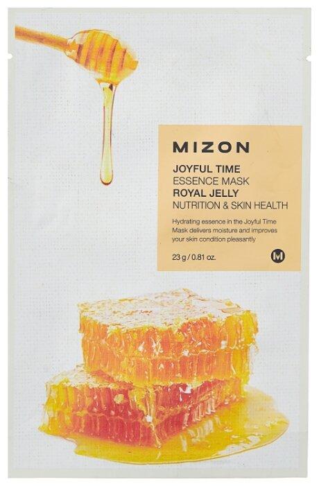 Mizon Joyful Time Essence Mask Royal Jelly тканевая маска с экстрактом маточного молочка