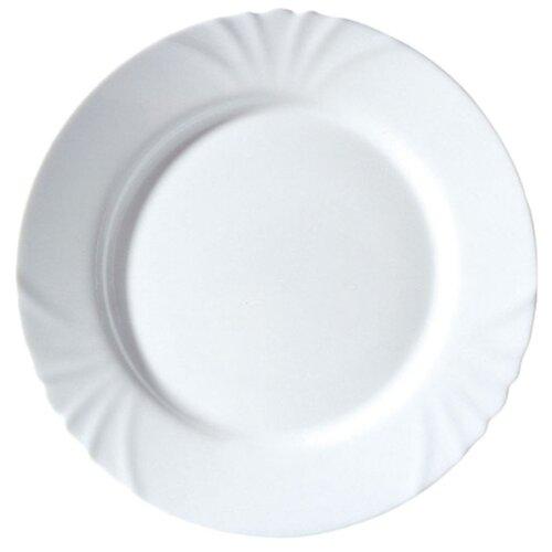 Luminarc Тарелка обеденная Cadix 25 см белый luminarc тарелка обеденная armoise 25 см белый