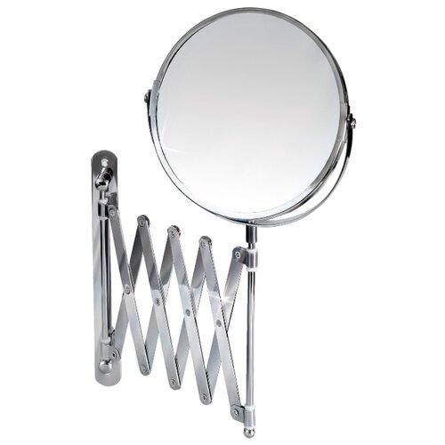 Купить Зеркало косметическое настенное Tatkraft Aurora (11106) хром