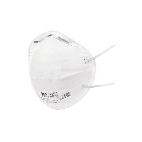 цены Респиратор 3M 8101-10 10 шт. белый
